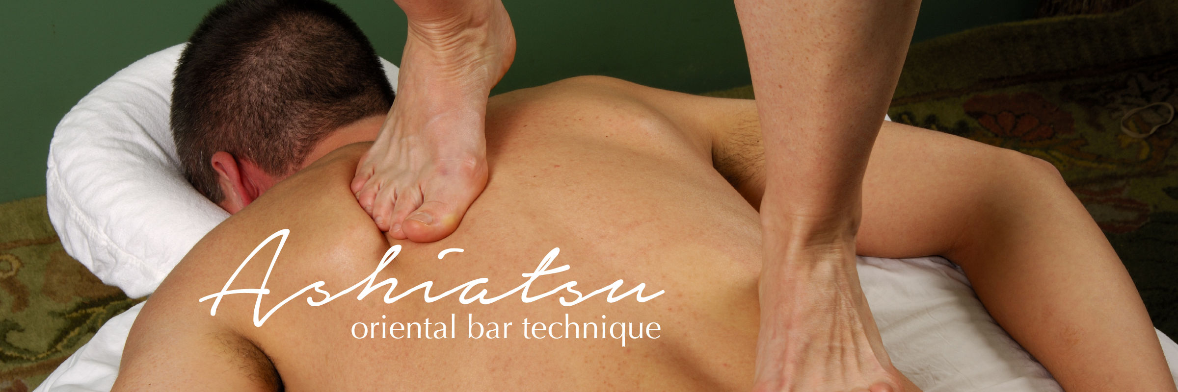 Ashiatsu Oriental Bar Therapy in Old Lyme, CT