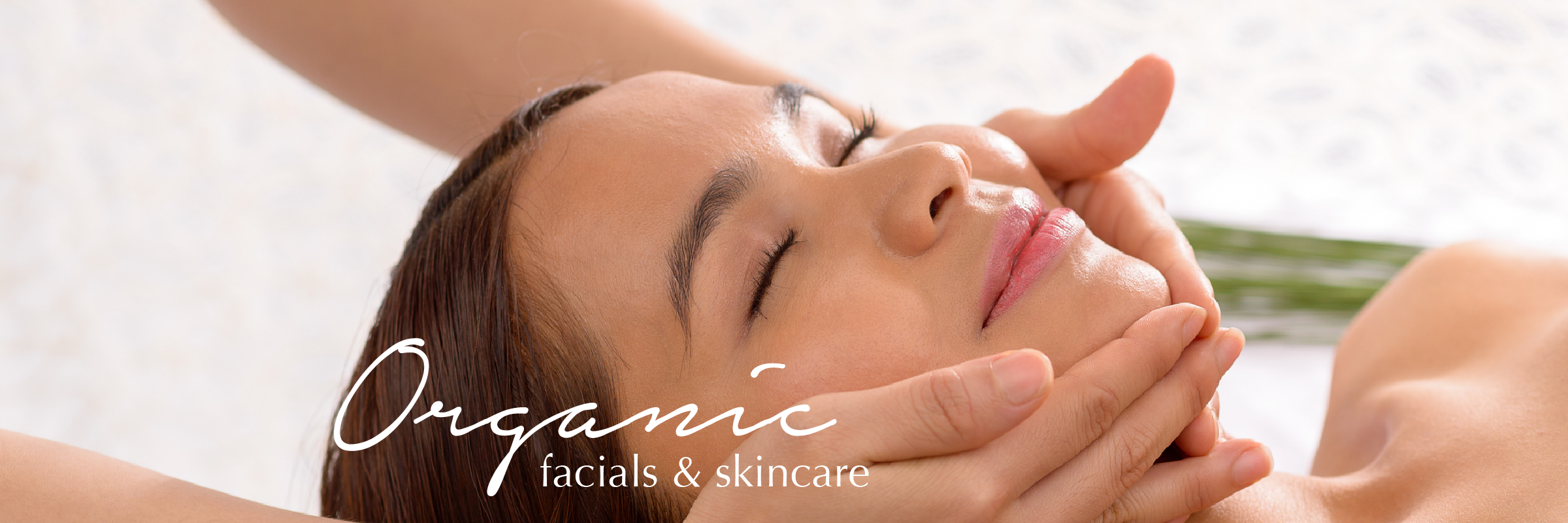 Organic Facial at Vitality Spa in Old Lyme CT